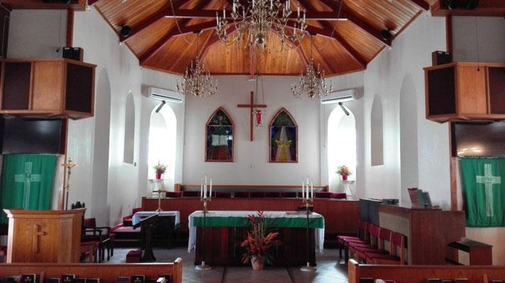 Altar der Angelican Church © Ben Simonsen