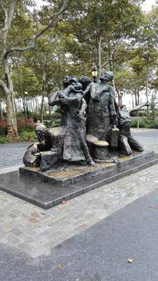 The Immigrants Memorial ©Ben Simonsen