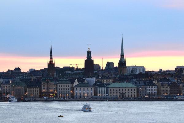 Weisse Nächte in Stockholm
