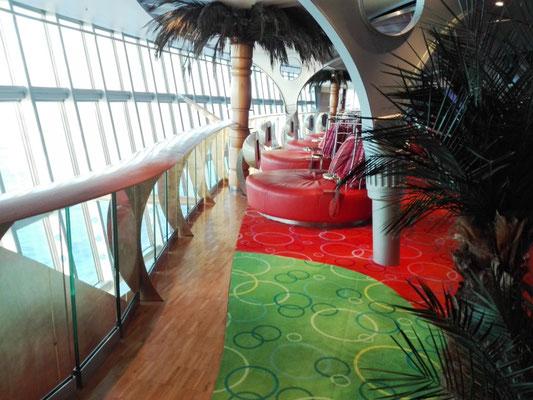 Loungebereich im Theatrium © Ben Simonsen