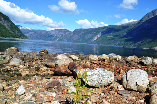 Blick in den Eidfjord