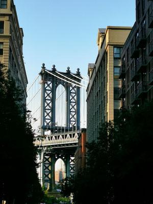 Manhattan Bridge & Empire State Building © Ben Simonsen