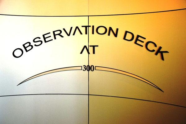 Observation Deck at 300