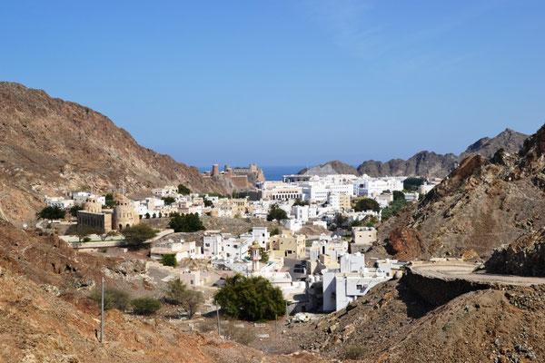 Blick auf Old Muscat