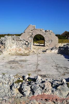 Maya Ruine im Punta Sur Eco Beach Park