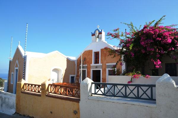 Fassade in Oia