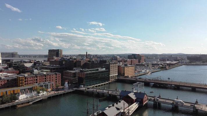 Blick vom Observation Deck ©Ben Simonsen