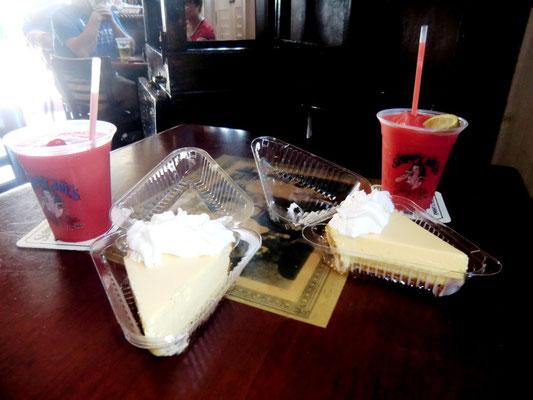 Lime Pie at Sloppy Joe's