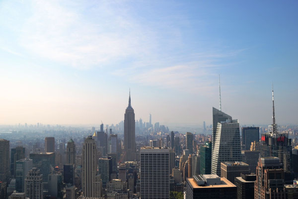 South Manhattan vom Top of the Rock