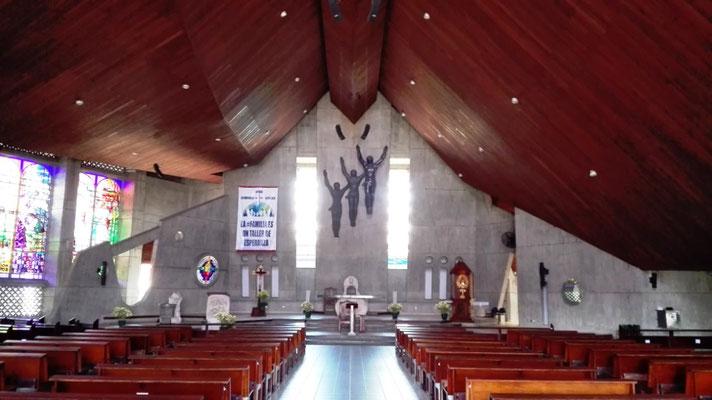 Kirchenschiff der Kathedrale Sagrado Coracón de Jesús © Ben Simonsen