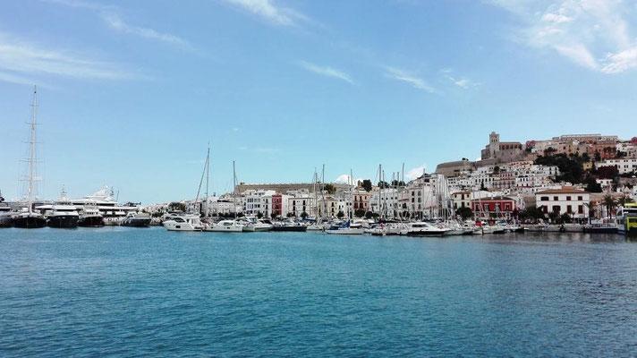 Jachthafen mit Altstadt