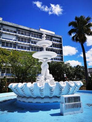 Springbrunnen auf dem Trafalgar Square © Ben Simonsen