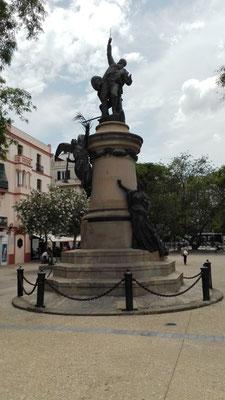 Statue Vara de Rey