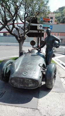 Juan Manuel Fangio Denkmal © Ben Simonsen