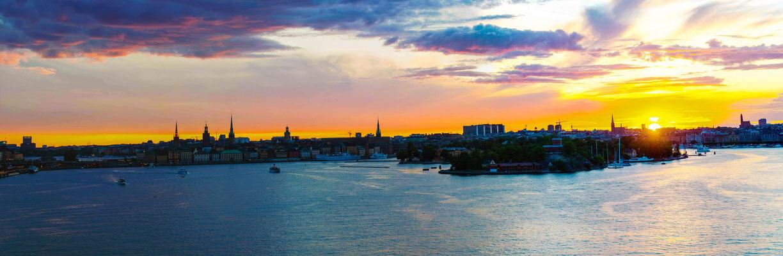 Stockholm in der Nacht (Midsommar) © Ben Simonsen