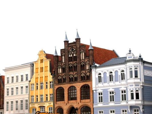 Fassaden in Stralsund