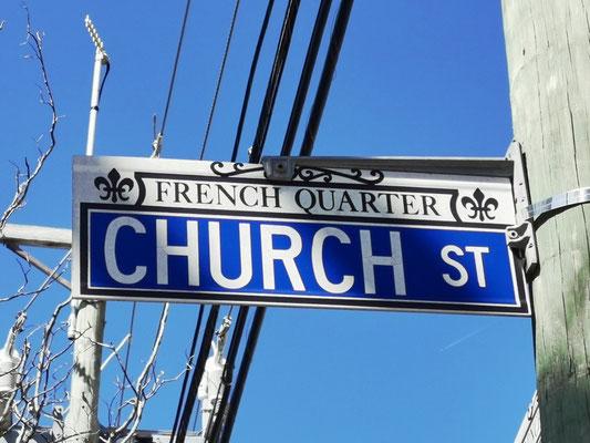Church Street im French Quarter © Ben Simonsen