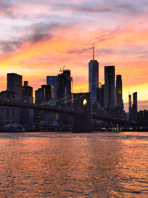 Brooklyn Bridge & Skyline Manhattan © Ben Simonsen