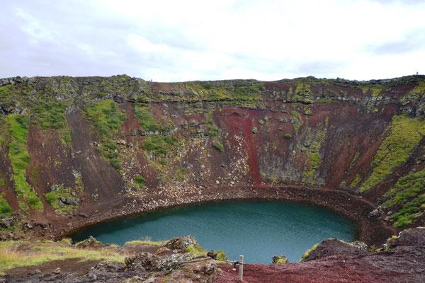 Kerid Vulkankrater