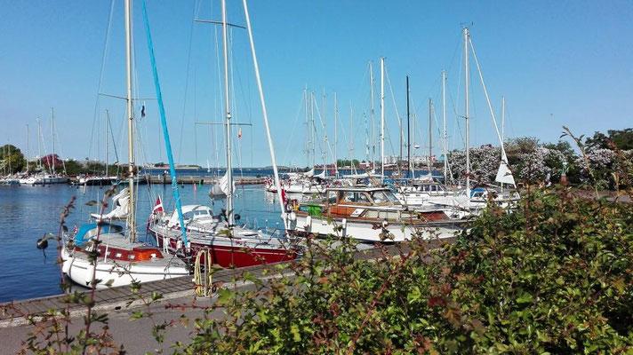 Jachthafen in Kopenhagen