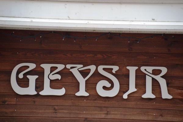 Geysir auf Island