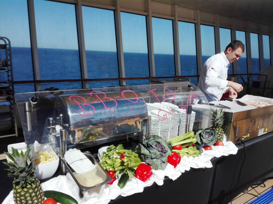 Steetfood Festival auf AIDAluna © Ben Simonsen