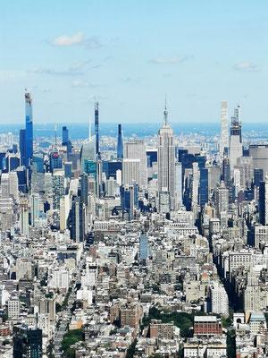 Uptown Manhattan mit Empire State Building © Ben Simonsen