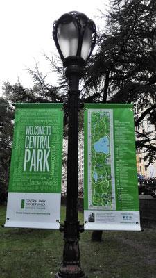 Laterne im Central Park ©Ben Simonsen