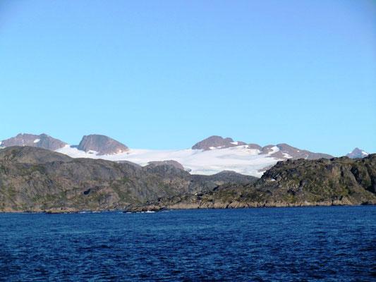 Grönland in Sicht!
