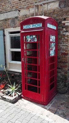 Telefonzelle Nelson's Dock Yard © Ben Simonsen
