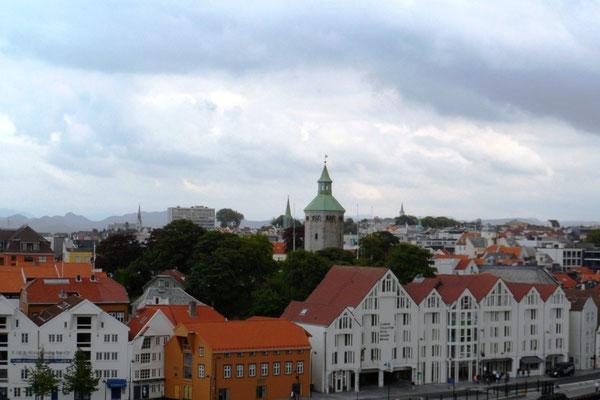 Die Skyline von Stavanger