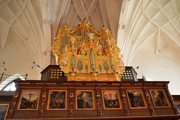 Orgel in der Kirche St. Gertrud