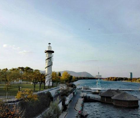 Leuchtturm Donauinsel © Ben Simonsen