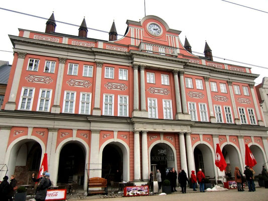 Rathhaus - Rostock