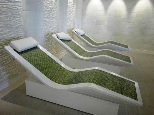 Tepidarium im Body & Soul Organic Spa © Ben Simonsen