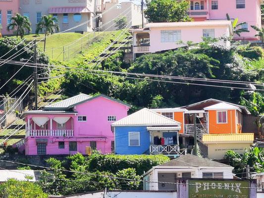 Pastellfarbene Häuser © Ben Simonsen