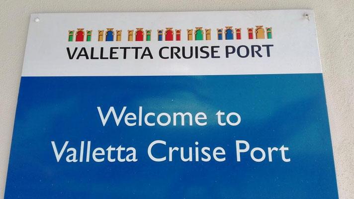 Willkommen in Valletta