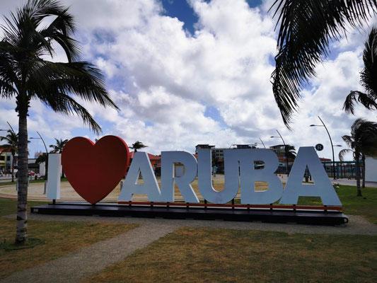 I love Aruba © Ben Simonsen
