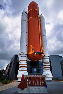 Space Shuttle Atlantis Ausstellung © Ben Simonsen