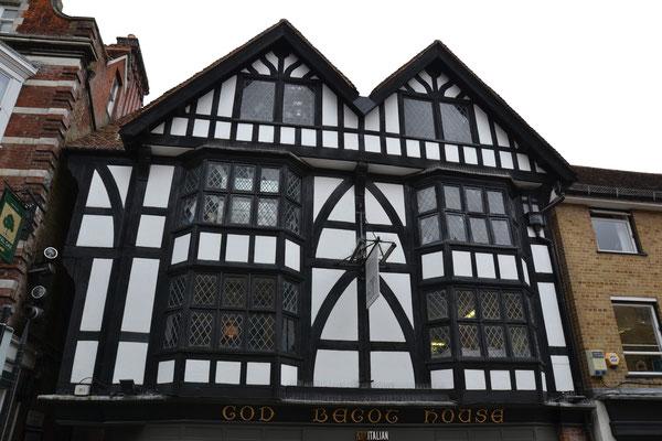 Fachwerk in Winchester