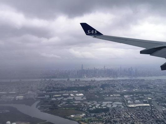 Landeanflug auf Newark International © Ben Simonsen