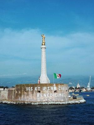 Hafenausfahrt von Messina