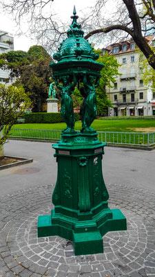 4 Nymphen Brunnen