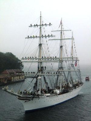 Norwegisches Segelschulschiff