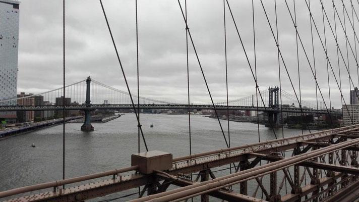 Blick zur Manhattan Bridge ©Ben Simonsen