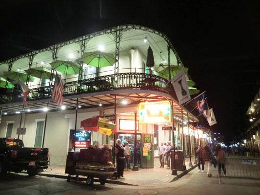 Bourbon Street am Abend