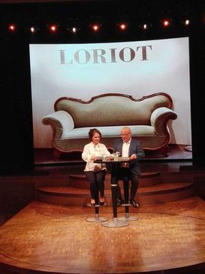 Loriot-Lesung © Ben Simonsen