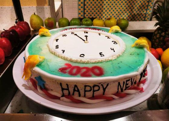 Happy New Year Torte © Ben Simonsen
