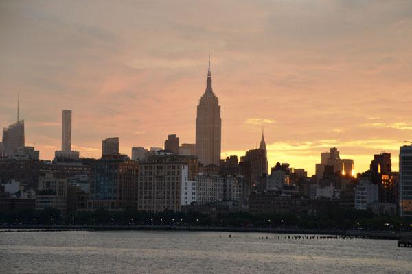 Skyline Midtown West Manhattan