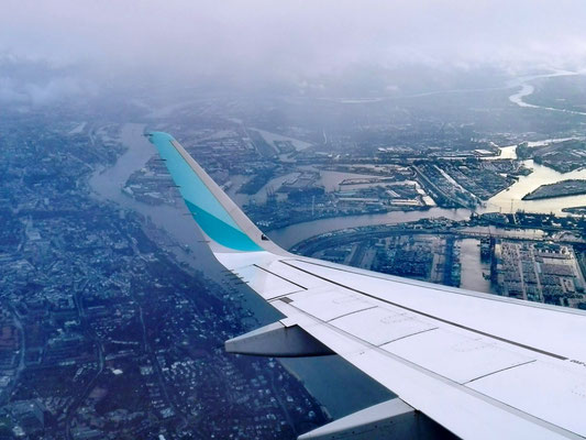 Hamburg von oben © Ben Simonsen